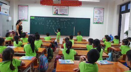 Tiết học môn Tiếng Việt 1 trường TH Nguyễn Du (Tp Lào Cai - Lào Cai).